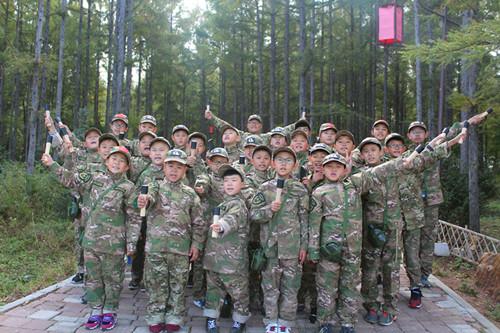 2017年吉林省AA军事化体验特训营(十一精英班)